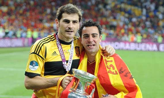 Iker Casillas y Xavi Hernández, galardonados con el Príncipe de Asturias de los Deportes